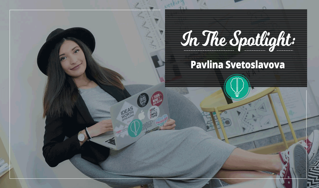 In the Spotlight – Pavlina Svetoslavova 1 | Innovator Coworking Space