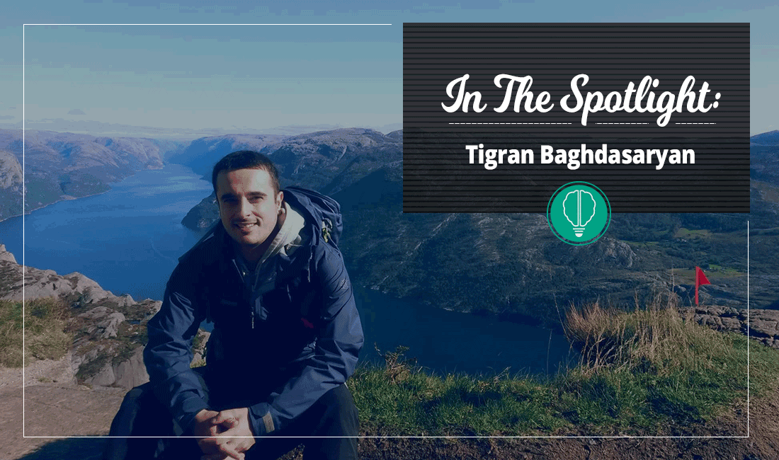 In the Spotlight – Tigran Baghdasaryan 3 | Innovator Coworking Space