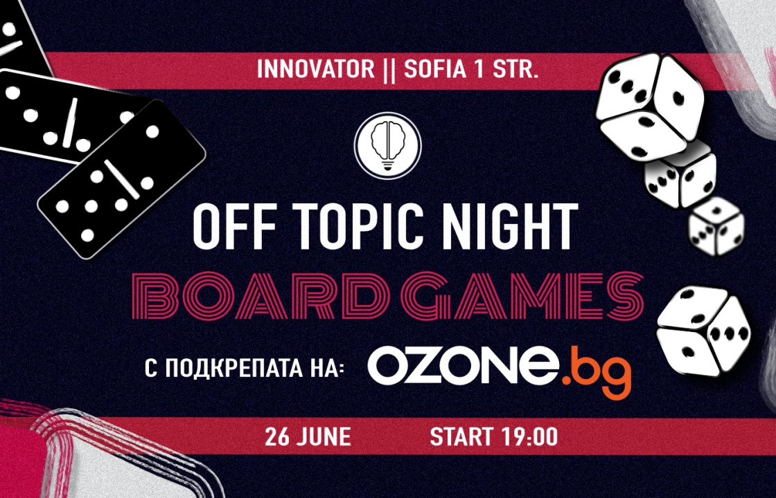 OFF Topic | Board Games Night 4 | Innovator Coworking Space